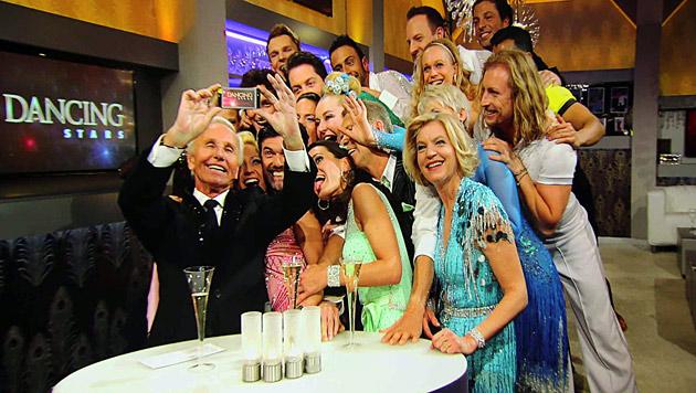 """""""Dancing Stars"""": Fanklub-Gründung und ein """"Selfie"""" (Bild: Alexander Tuma)"""