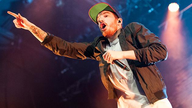 Rapper Casper tauschte Pubertät gegen Pathos aus (Bild: Andreas Graf)