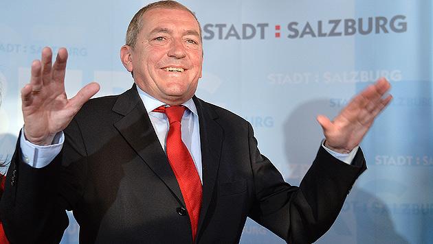 Salzburgs Bürgermeister Heinz Schaden (Bild: APA/Barbara Gindl)