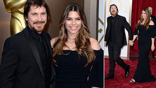 Christian Bale wird zum zweiten Mal Papa (Bild: APA/EPA/MIKE NELSON)