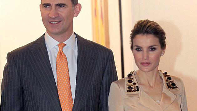 Steht Ehe von Felipe und Letizia vor dem Aus? (Bild: APA/EPA/ZIPI)