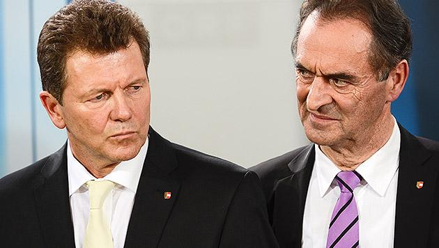 Umsturz in Kärntner ÖVP: Doppelspitze entmachtet (Bild: APA/HERBERT NEUBAUER)