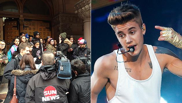 Justin Bieber lässt Gerichtstermin in Toronto aus (Bild: AFP, AP)