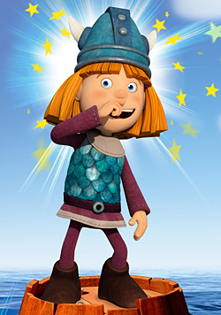"""""""Wickie"""" jetzt in 3D und mit """"rockigerem"""" Sound (Bild: ZDF/Studio 100 Animation/ASE Studios)"""