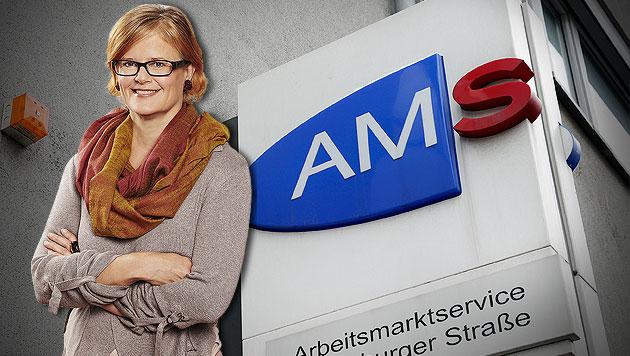 Wiener AMS streicht umstrittene Aktivierungskurse (Bild: Klemens Groh, APA/BMASK/THOMAS TOPF, krone.at-Grafik)