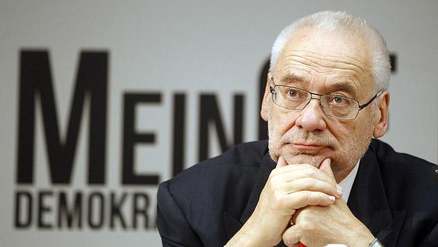 """Ex-ÖVP-Chef Busek: """"Ja, ich habe die NEOS gewählt"""" (Bild: APA/Georg Hochmuth)"""