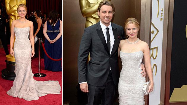 Kristen Bell: Peinliche Pinkel-Panne bei Oscars (Bild: Dan Steinberg/Invision/AP, APA/EPA/MIKE NELSON)