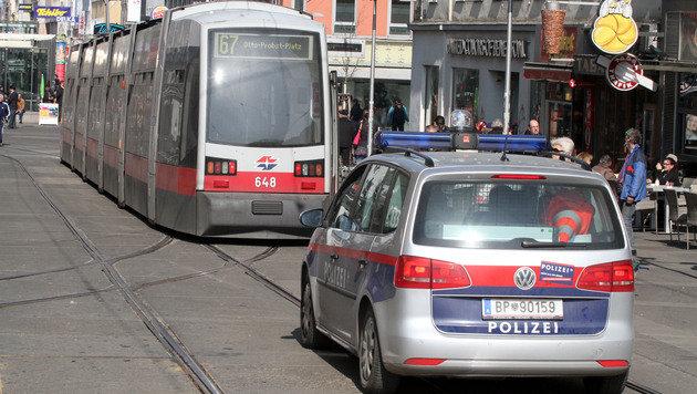 Öffi-Lenker der Wiener Linien von Duo verprügelt (Bild: Andi Schiel)