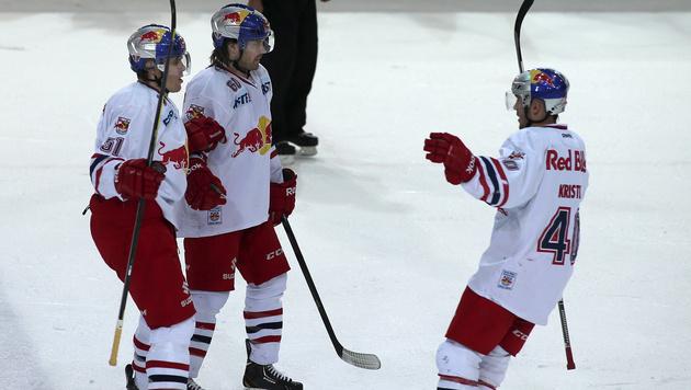 Salzburg zieht gegen Dornbirn ins Halbfinale ein (Bild: ANDREAS TR?STER)
