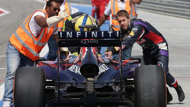 """Vettel nennt sein Rennauto heuer """"Suzie"""" (Bild: AP)"""