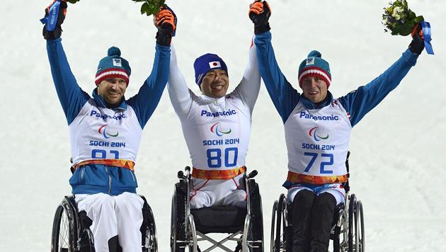 Zwei Slalom-Medaillen in Sotschi für Österreich (Bild: APA/EPA/VASSIL DONEV)