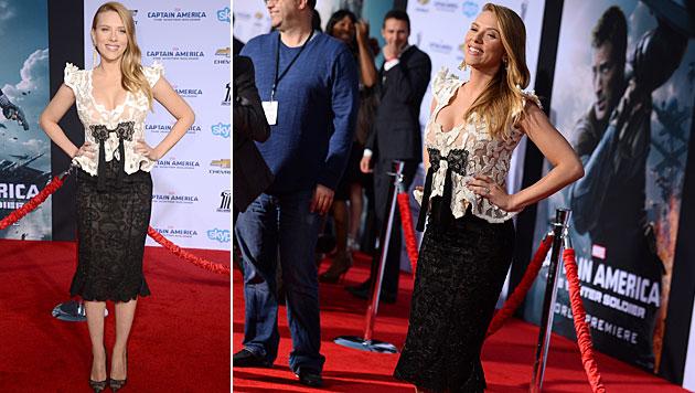 Im Frühling 2014 wurde bekannt, dass die begehrte Hollywood-Aktrice ihr erstes Kind erwartet. (Bild: Jordan Strauss/Invision/AP)