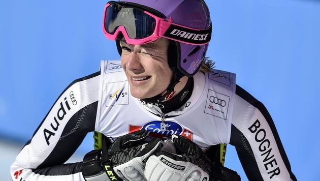 Maria Höfl-Riesch beendet ihre Karriere (Bild: EPA)