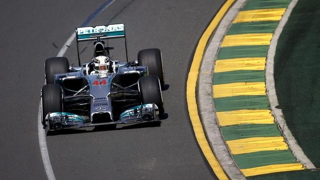 Mercedes im Training stark, Vettel Vierter (Bild: EPA)