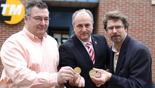 100 Jubiläumsmünzen vor Vereinsfest gestohlen (Bild: Gerhard Bartel)