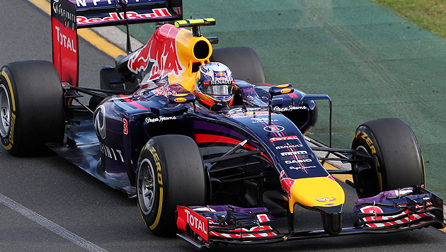 Red Bulls Ricciardo nach Platz 2 disqualifiziert (Bild: AP)