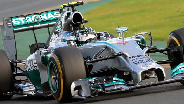 Rosberg siegt, Hamilton und Vettel mit Defekt out (Bild: APA/EPA/SRDJAN SUKI)