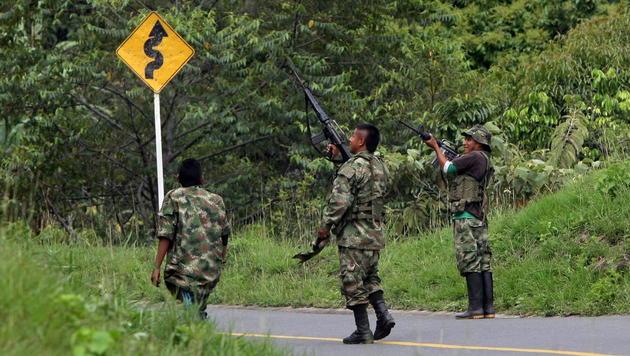 Kolumbien: Friedensvertrag unterzeichnet (Bild: EPA)