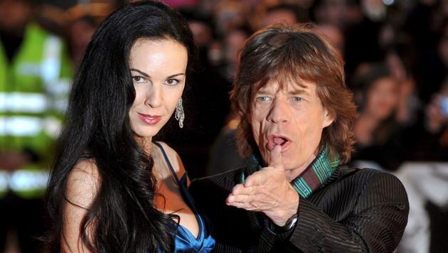 Jagger-Freundin L'Wren Scott in L.A. beigesetzt (Bild: EPA/DANIEL DEME)
