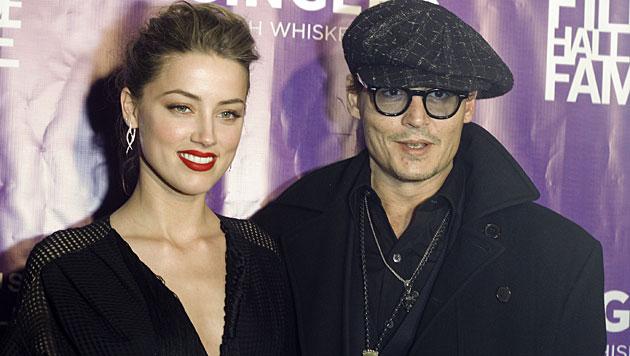 Für Amber Heard verließ Johnny Depp seine Lebensgefährtin Vanessa Paradis. (Bild: Jack Plunkett/Invision/AP)