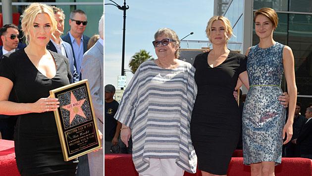 Kate Winslet ging vor Hollywood-Stern in die Knie (Bild: APA/EPA/NINA PROMMER, John Shearer/Invision/AP)