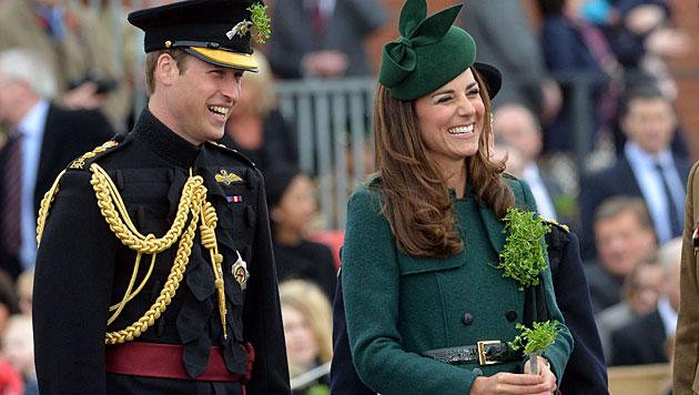 William und Kate: Kein Nachwuchs in Planung (Bild: AFP)