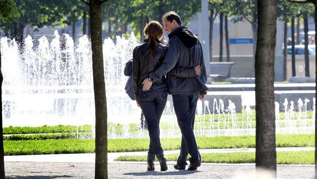 90 Prozent der Österreicher haben Frühlingsgefühle (Bild: dpa/Wolfgang Kumm)