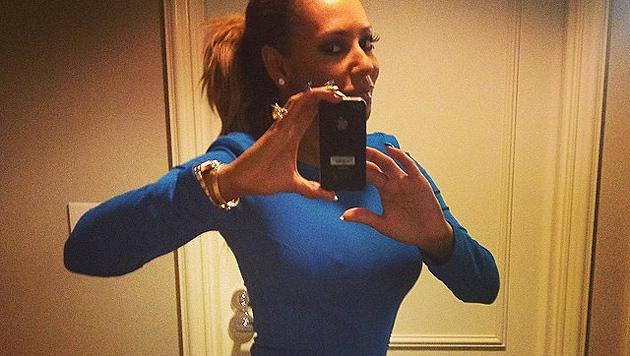 Mel B vernaschte Playmate auf der Hotel-Toilette (Bild: Instagram.com)