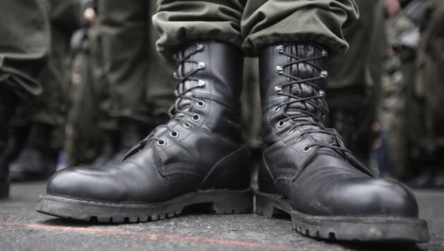 Kärntner Soldat bei Übung in Deutschland verletzt (Bild: APA/GEORG HOCHMUTH)