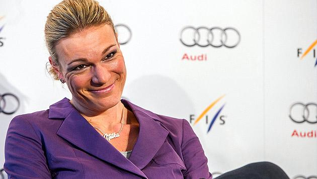 Maria Höfl-Riesch beendet ihre Karriere (Bild: APA/EPA/MARC MUELLER)