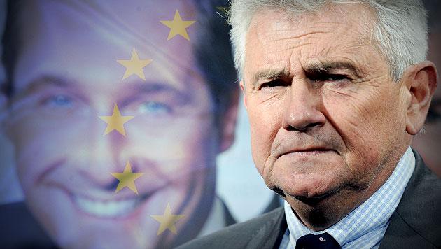 """FP-Mölzer verglich EU-""""Diktatur"""" mit Drittem Reich (Bild: APA/HANS KLAUS TECHT, thinkstockphotos.de, krone.at-Grafik)"""