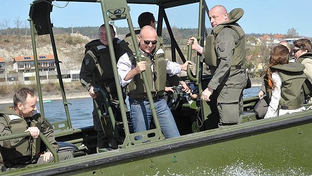 Katastrophenhilfe: Neun neue Boote für das Heer (Bild: APA/BUNDESHEER/GUNTER PUSCH)