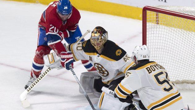 Sieg und Pleite: Raffl und Vanek treffen in NHL (Bild: AP)