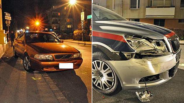 Drei Verletzte bei wilder Verfolgungsjagd in Wien (Bild: BPD Wien)