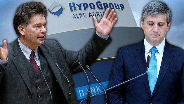 """Opposition ortet """"Verhöhnung des Steuerzahlers"""" (Bild: APA/HANS KLAUS TECHT, APA/ROLAND SCHLAGER, APA/GERT EGGENBERGER)"""