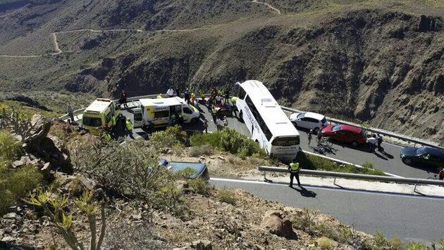 """Tourist aus Ö: """"Waren größter Gefahr ausgesetzt"""" (Bild: EPA)"""