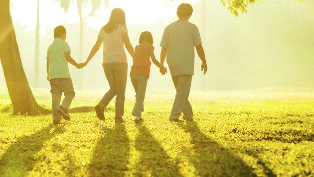 40,4% der Familien leben ohne Kinder im Haushalt (Bild: Thinkstockphotos.com)