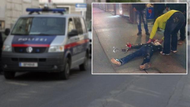 """Fehde im Drogenmilieu: Mann niedergestochen (Bild: """"Krone"""")"""