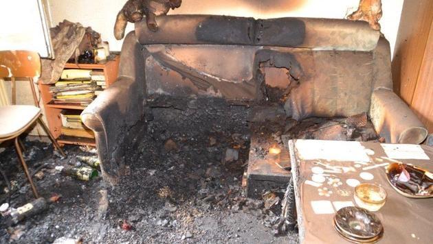 NÖ: Frau kommt bei Wohnungsbrand ums Leben (Bild: Einsatzdoku.at)