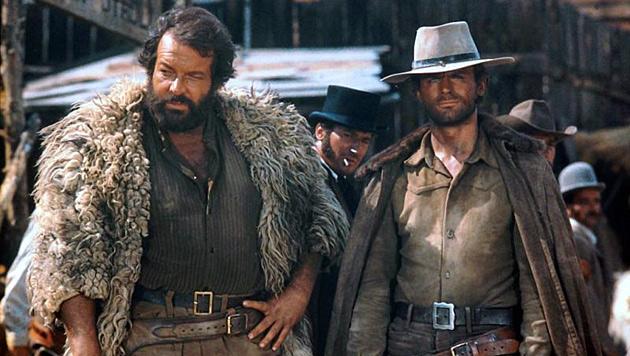 """Schlagfertiger """"Nobody"""": Terence Hill wird 75 (Bild: YouTube/""""Gott vergibt… Django nie!"""")"""