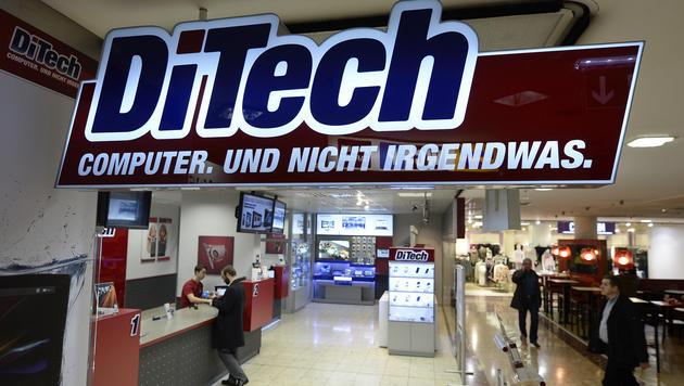 DiTech-Abverkauf nur noch eine Woche (Bild: APA/HERBERT NEUBAUER)