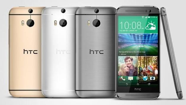HTC enthüllt neues Android-Flaggschiff One M8 (Bild: HTC)