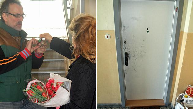 Mutige 46-Jährige sperrt Einbrecher in Wohnung ein (Bild: Andi Schiel)