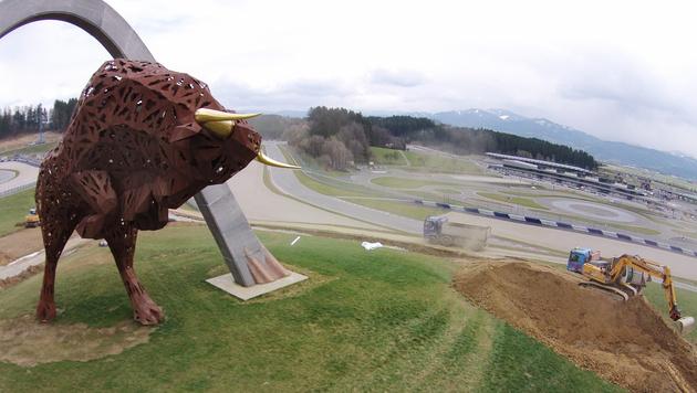 Baufieber in Spielberg: Facelift für Red-Bull-Ring (Bild: APA/HARALD SCHNEIDER)