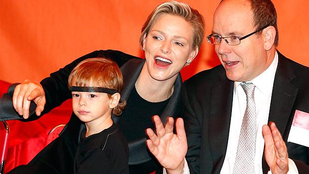 """Fürstin Charlene: """"Wünsche mir Kinder mit Albert"""" (Bild: APA/EPA/SEBASTIEN NOGIER)"""