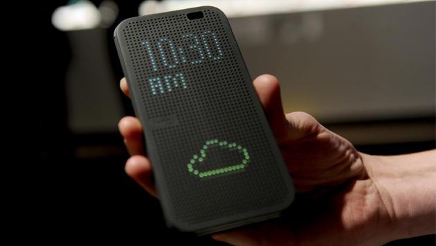 HTC enthüllt neues Android-Flaggschiff One M8 (Bild: AP)