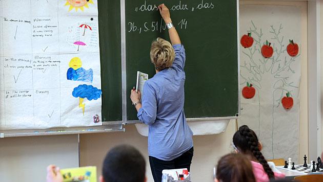 """Christliche Lehrer wollen mehr """"Möglichkeiten"""" (Bild: APA/Georg Hochmuth)"""