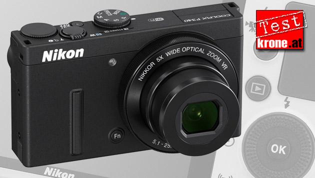 """Nikon Coolpix P340: Neue """"Meisterin des Lichts"""" (Bild: Nikon, krone.at-Grafik)"""