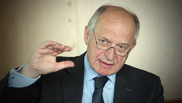 Der Präsident des Fiskalrates, Bernhard Felderer (Bild: Klemens Groh)