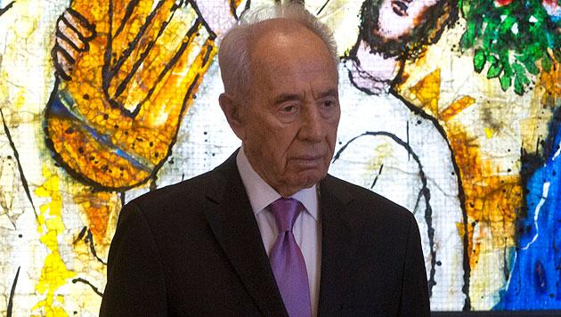 Alarmstufe Rot rund um Besuch von Shimon Peres (Bild: AP)
